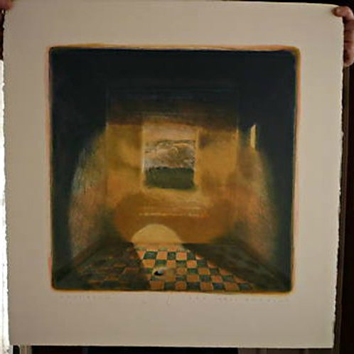 "CAROL ANTHONY ""INNER ROOM"" HAND LITHOGRAPH/ SIGNED"