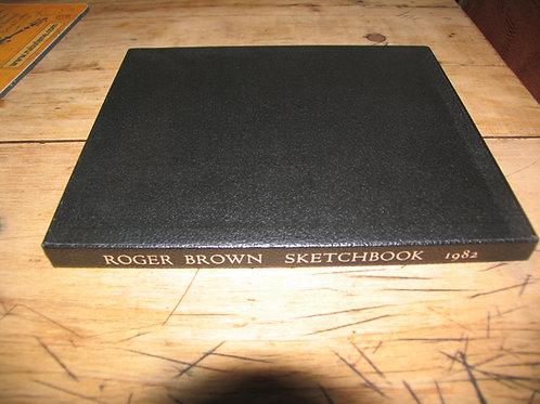 Roger Brown Sketchbook 1982 Signed