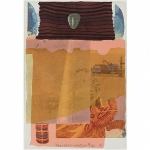 Robert Rauschenberg Arcanum 1 - Original Ltd Edition Signed and Designated
