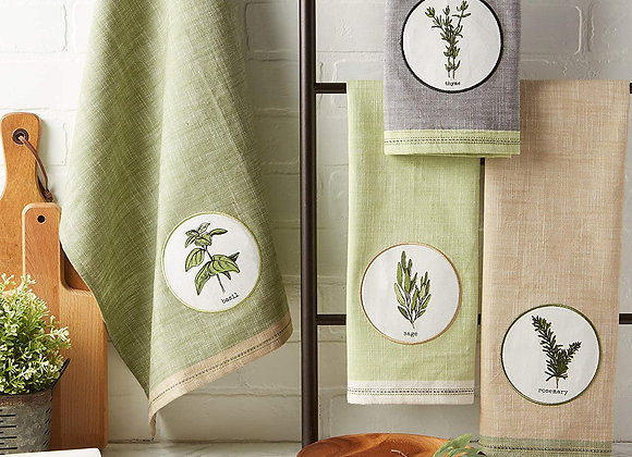 Herbal Dishtowel Set