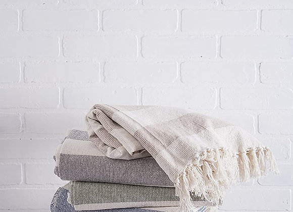 Hamptons Throw Blanket