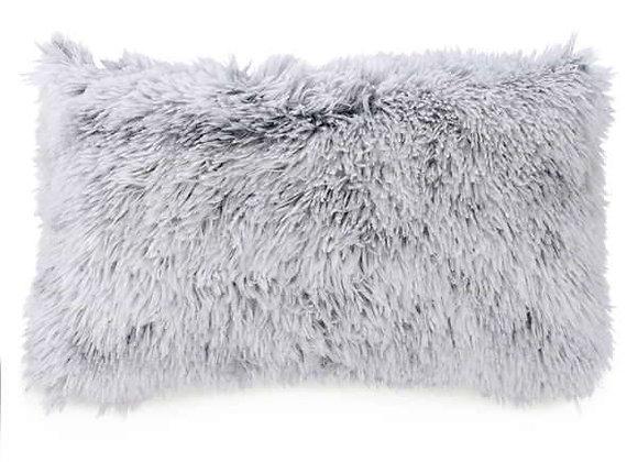 Faux Fur Rectangular Cushion - Set of 2