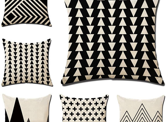 Patterned Square Pillow Throws