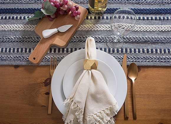 Cotton Braided Table Runner