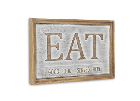 """Country Style """"Eat"""" Sign"""