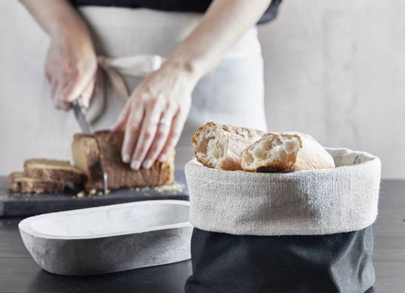 Linen Bread Pouch