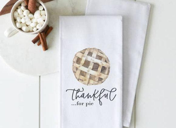 Thankful for Pie Tea Towel