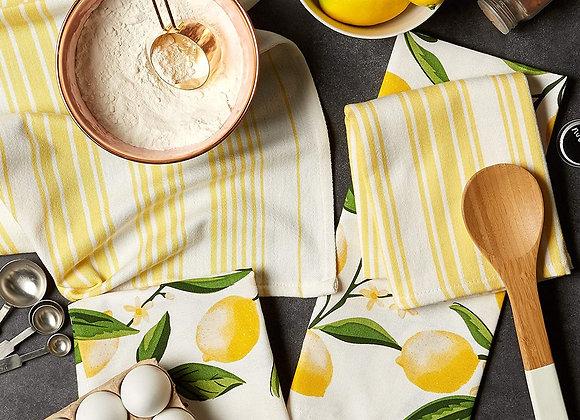 Lemon Dishtowel Set