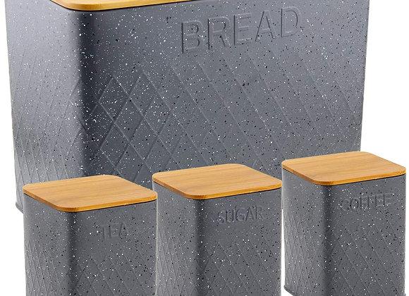 Grey Bread + Storage Set