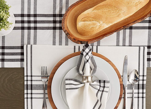 Farmhouse Checkered Place Mats