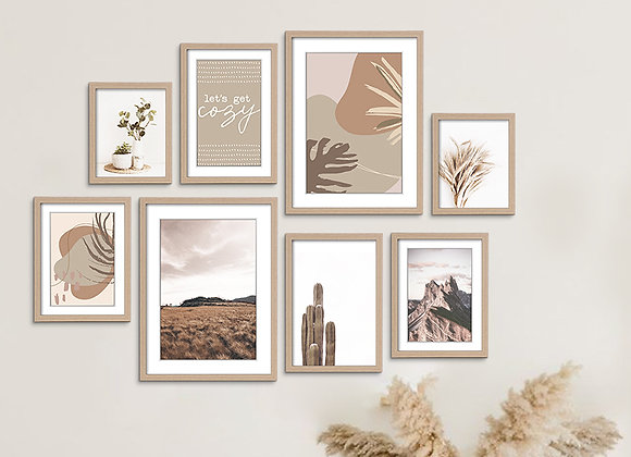 Wall Art Gallery ( Photo + Frames )