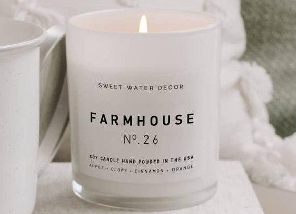 Farmhouse Soy Candle