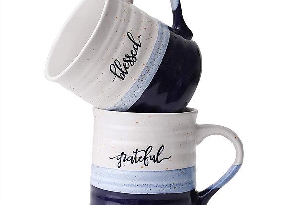 Textured Mug Set