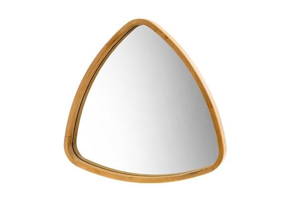 Boomerang Oak Mirror