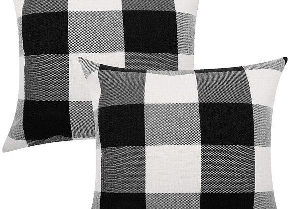 Plaid Cushion Cover (set of 2)