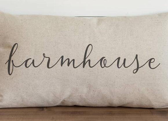 Farmhouse Pillow Cover