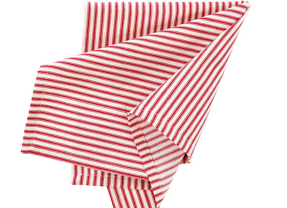 Red Striped Napkins - Set of 4