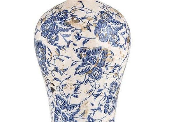 Small Vintage Blue Vase