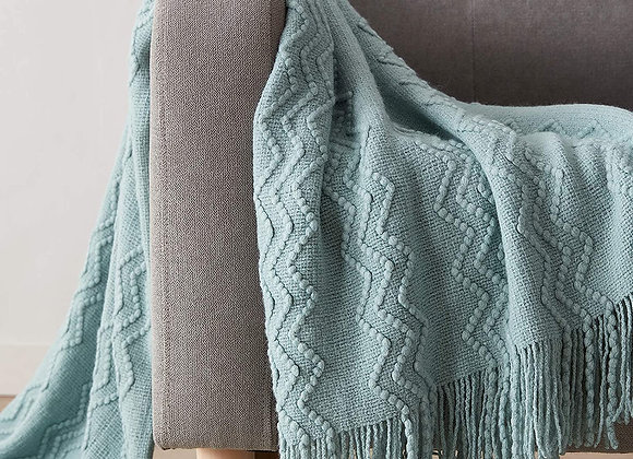 Soft Knitted Blanket Throw