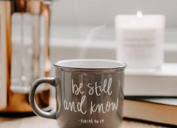 Be Still & Know Mug
