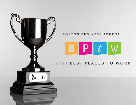 Boston Business Journal Names Perch One of Its 2021 Best Places to Work