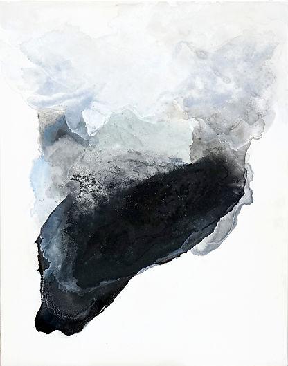 日本画 雲 風景