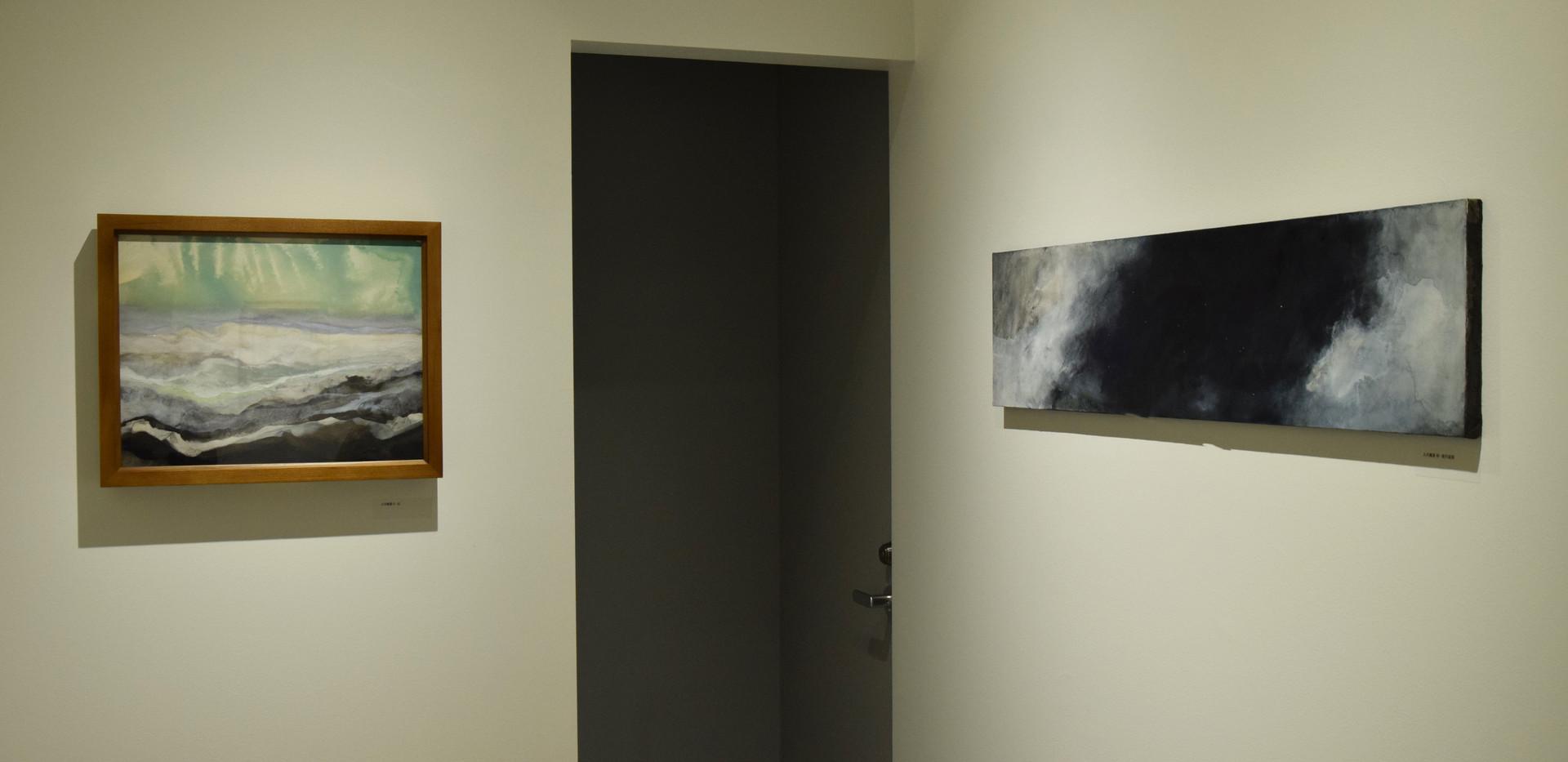 左:人の風景-北