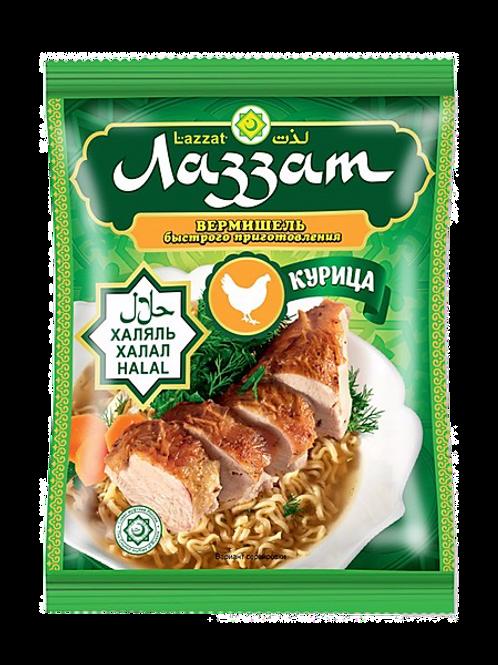 Вермишельбыстрого приготовления со вкусом курицы