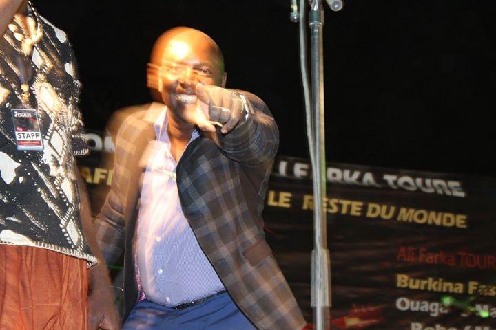Hommage à Ali Farka Touré, 10 ans après!_Vieux Farka Touré au Fescauris 2016