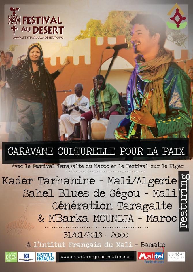 Caravane Culturelle pour la Paix 2018 - Festival au Désert