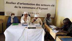 Ateliers d'orientation et de formation des acteurs clé des communes d'Agouni et de Ber
