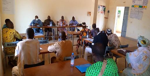 Session d'élaboration et de mise en œuvre de plans d'appui aux mécanismes de Kadiolo
