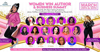 Dr. Tonya Speking at Women Win Summit