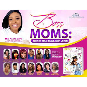 Dr/ Tonya a Co-Author in the Bossmoms book