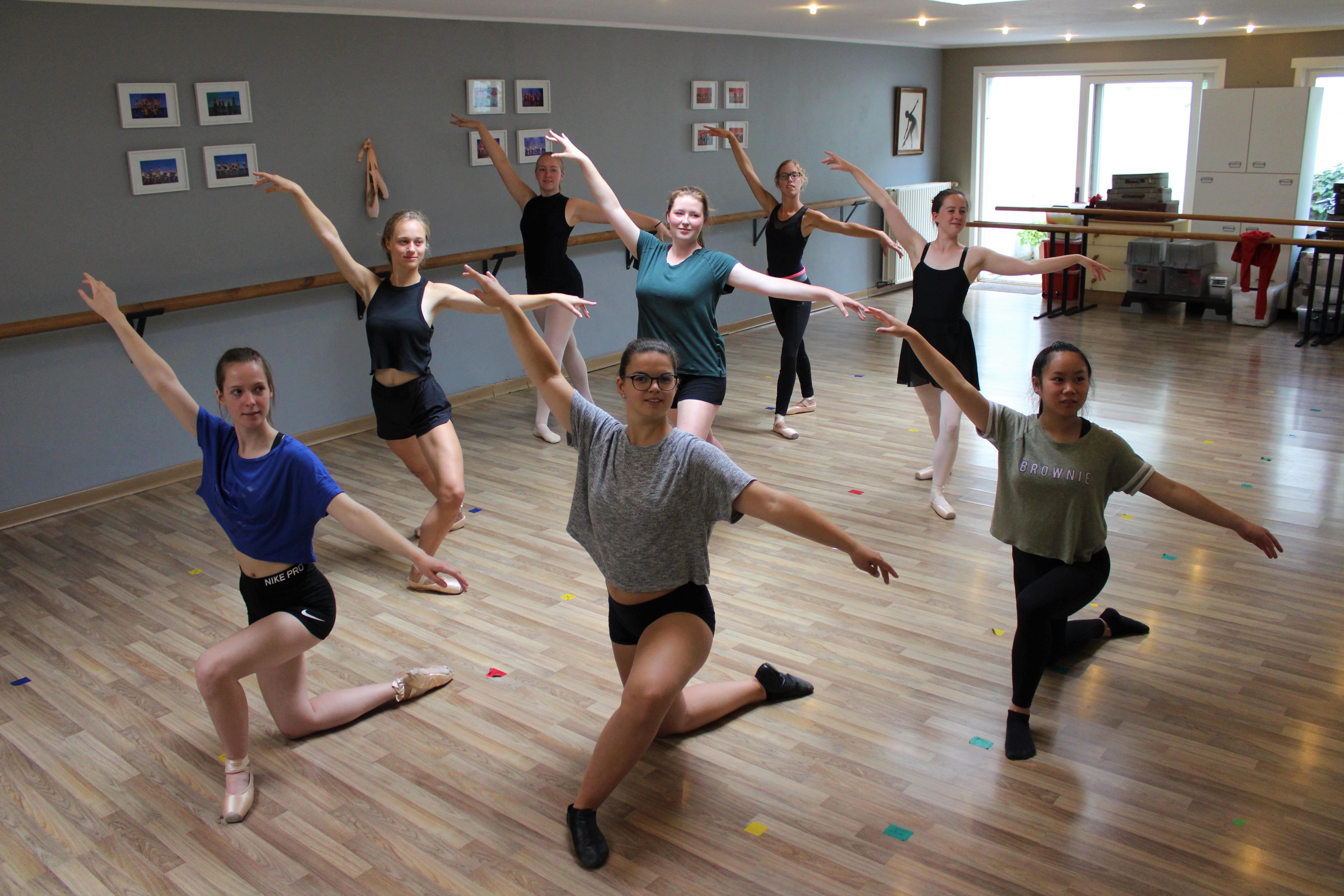 Nieuwe dansseizoen