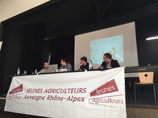 Jeunes Agriculteurs Auvergne Rhône-Alpes et du Rhône : Session Régionale Installation 7 décembre 201