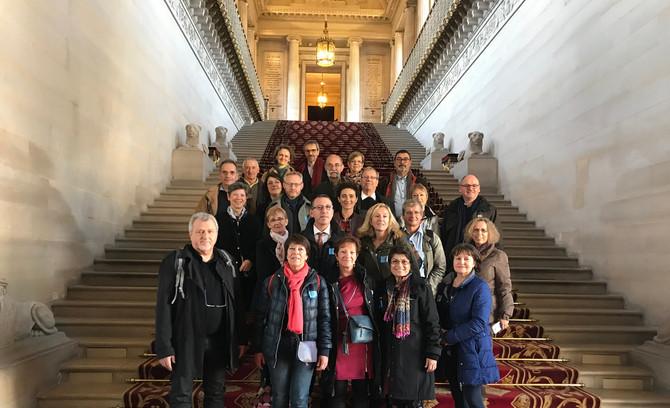 Visite du Sénat avec les Elus de la commune de Vaugneray samedi 17 novembre 2018