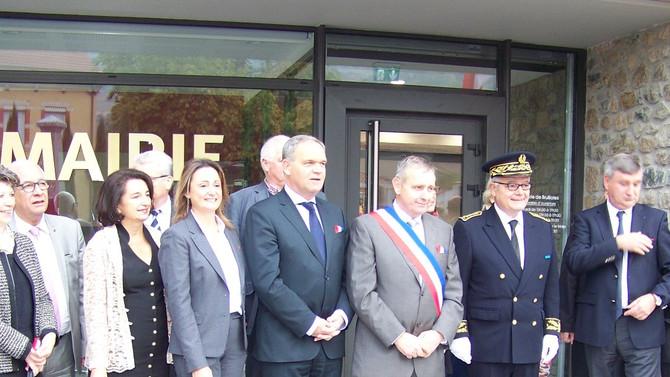 Inauguration de la mairie de Brullioles le samedi 8 octobre 2016