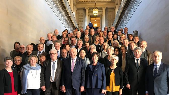 Les Sénateurs du Rhône reçoivent les Maires du Rhône au Sénat le 22 novembre 2017