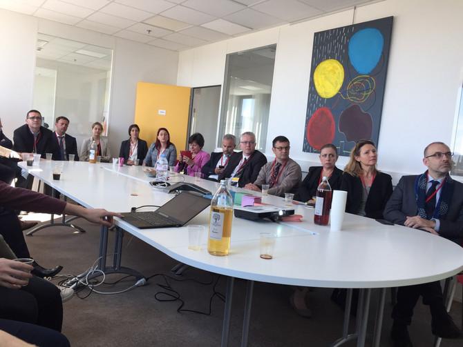Séjour d'études dans le Rhône des auditeurs de l'Institut du Sénat les 15, 16 et 17 mai 2019