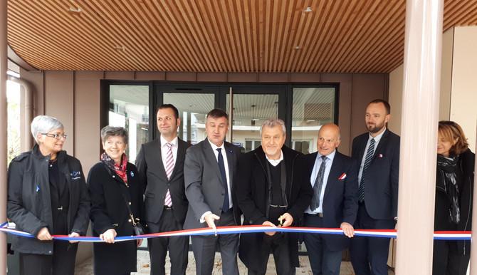 Inauguration salle des fêtes de Vaugneray le samedi 10 novembre 2018