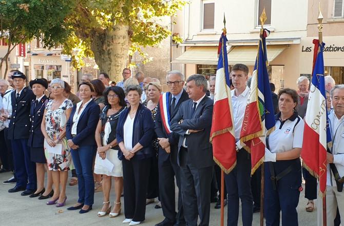 75ème anniversaire de la libération de Brignais le 3 septembre 2019