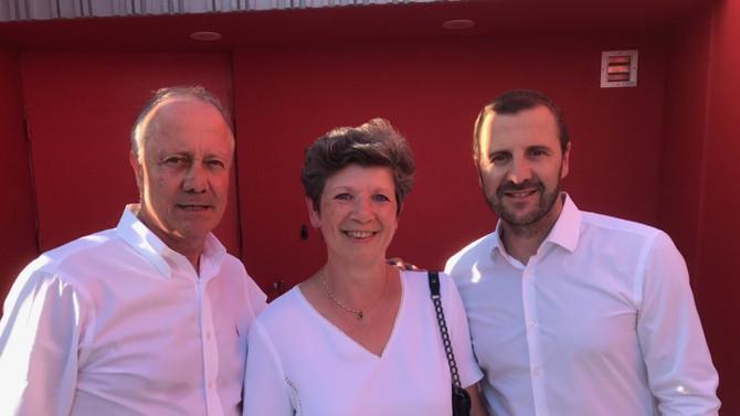 Inauguration du parc sportif de Francheville le samedi 30 août 2019
