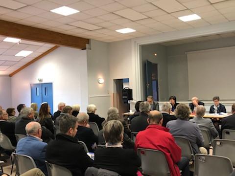 Réunion à Morancé avec les Sénateurs du Rhône le jeudi 12 avril 2018
