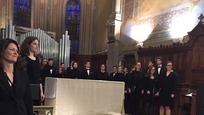 Concert du Choeur de la Cathédrale Saint Jean organisé par les Amis du Carillon de Grézieu la Varenn