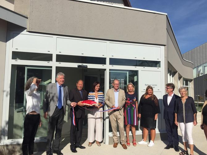 Inauguration de la médiathèque de Marcy l'Etoile le samedi 14 septembre 2019
