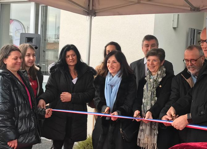 """Inauguration de """"la câlinerie"""" à Brignais le 31 janvier 2020"""