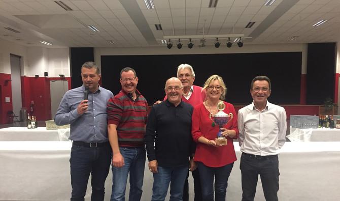 Concours de boules des élus du Rhône le 4 octobre 2019 à Craponne