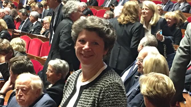 Nommée membre de la Commission Nationale de Contrôle des Techniques de Renseignement (CNCTR)