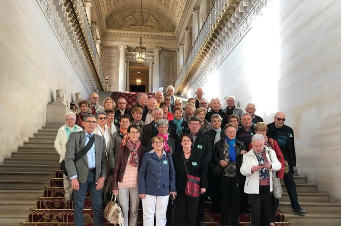 Visite du Sénat Inter-Clubs de retraités des Vallons du Lyonnais le jeudi 6 avril 2017